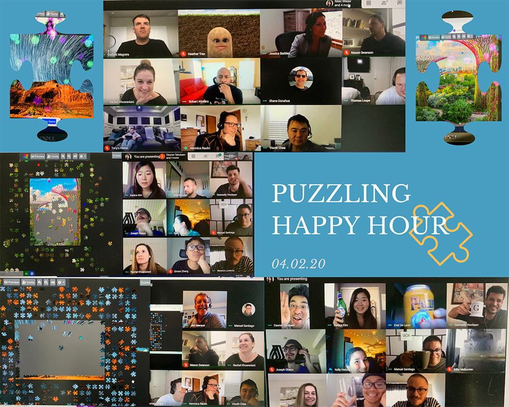 Puzzling Happy Hour